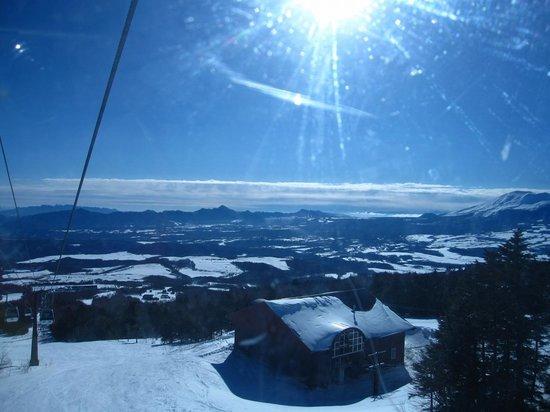 Palcall Tsumagoi Ski Resort : ゴンドラからの景色は最高