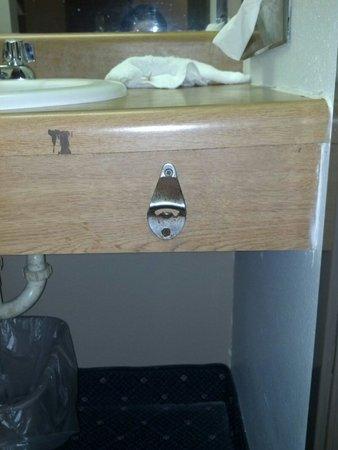 American Inn : We had a bottle opener in our room.......