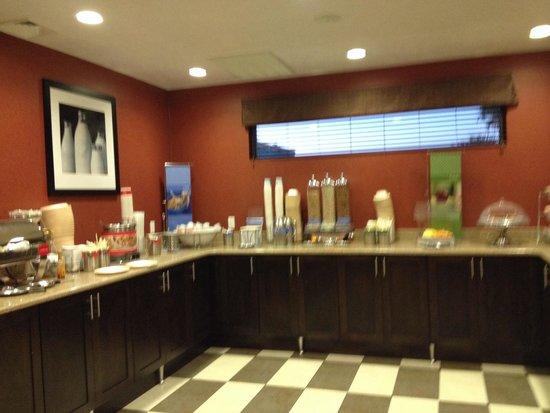 Hampton Inn St. George : Continental breakfast