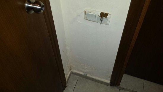 Hotel Pamphylia: Paredes do quarto