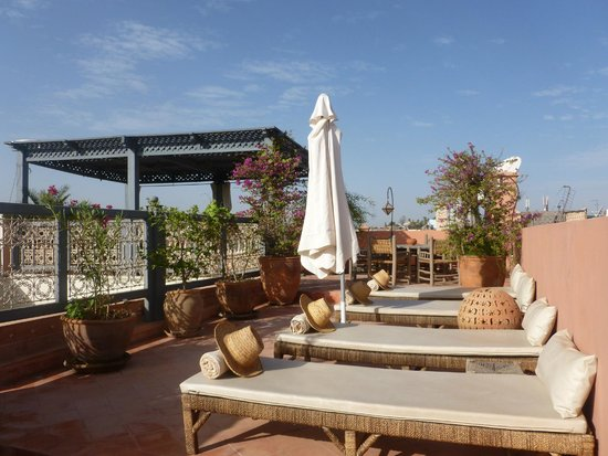 Dar Andamaure: roof top terrace