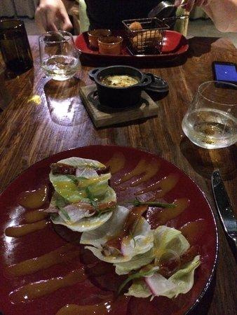 El Dorado Sensimar Riviera Maya: Gourmet pub - starters