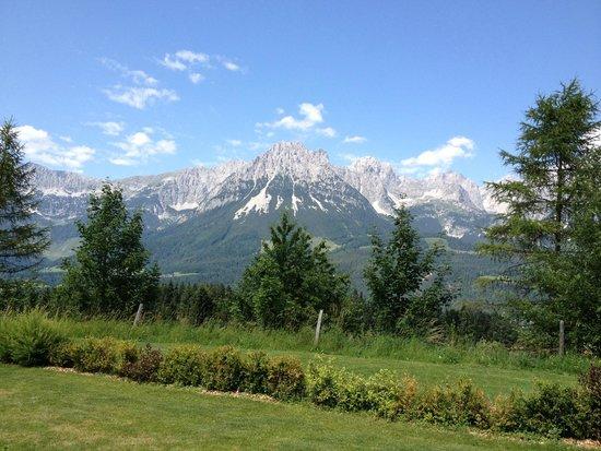Kaiserhof: Bergpanorama Wilder Kaiser