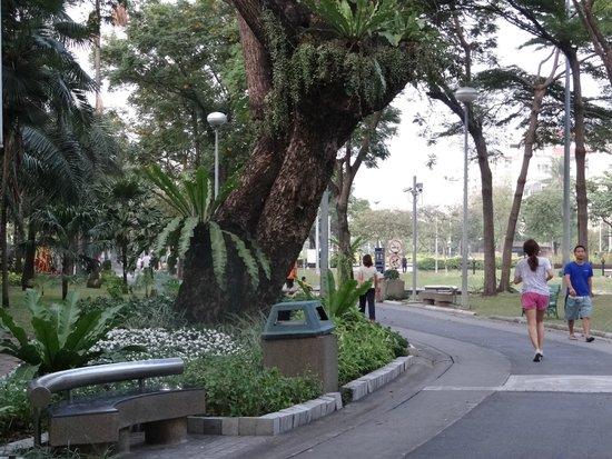 Santiphap Park (Park of Peace)