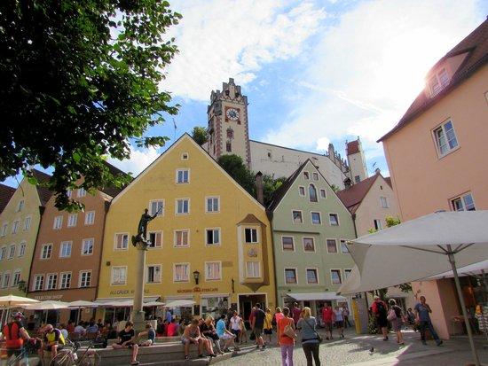 Altstadt von Fuessen: Füssen 2