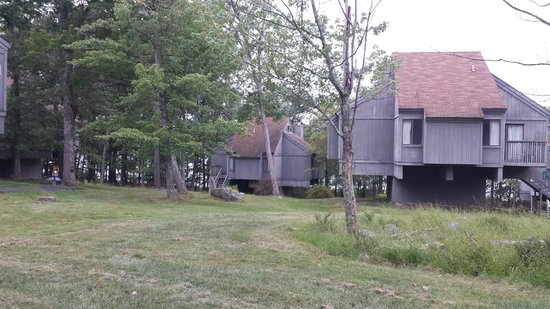 Tamiment, PA: Units are up high - called Treehouses!