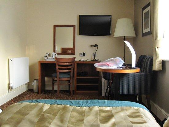 The Hog's Head Inn: Part of the bedroom