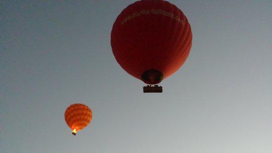Sindbad Hot Air Balloons: Lift off