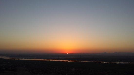 Sindbad Hot Air Balloons: Gorgous sunrise