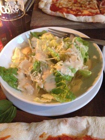 Prezzo - Bury St Edmunds: Caesar salad