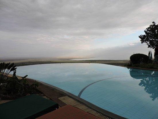 Lake Manyara Serena Lodge : Piscina panoramica