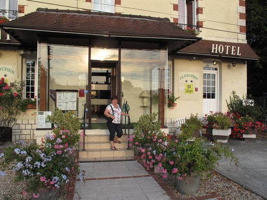 Le Dauphin Hotel: entree van het hotel Le Dauphin