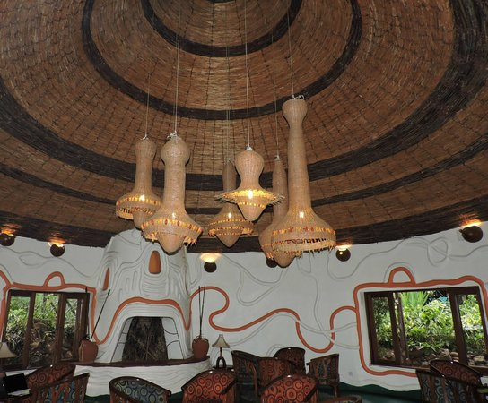 Lake Manyara Serena Lodge: Sala comune