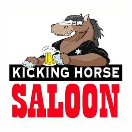 Kicking Horse Saloon : LOGO