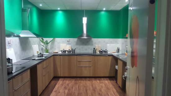 Interhostel: New Kitchen