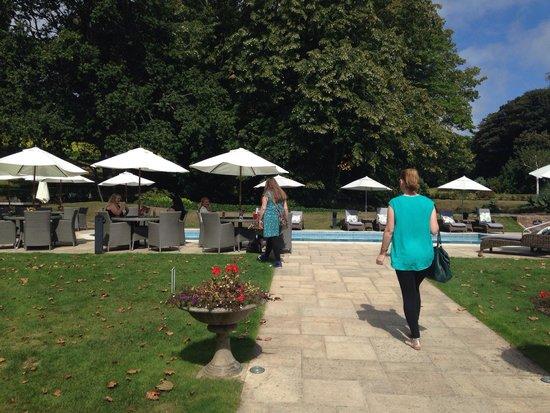 Longueville Manor: Lovely pool area