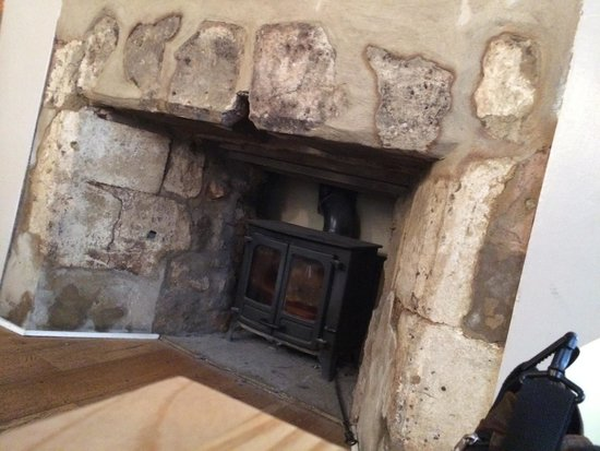 Nice Fireplace Bet It S Cooking Hot In Winter Picture Of