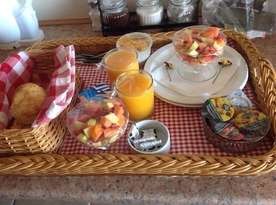 Paradise Found : desayuno.....todos los detalles!