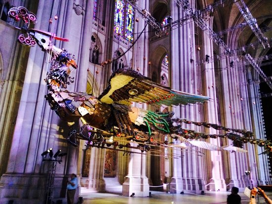 Cathedral Church of Saint John the Divine : Flying Phoenix by Cu Bing