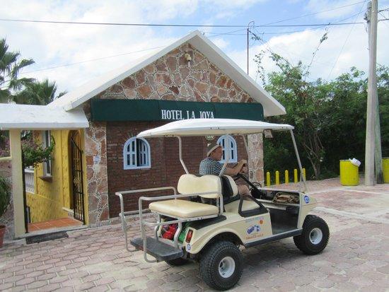 Hotel La Joya: Незаменимая машинка