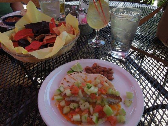 Orlando's New Mexican Cafe: Baja Fish Taco--yumo!!