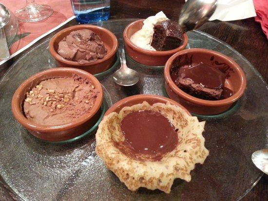 Hippopotamus: Great chocolate dessert!