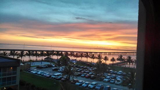 Four Points By Sheraton Punta Gorda Harborside : sunset view from our room!