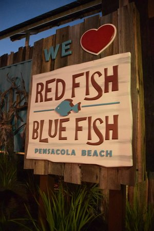 Red fish blue fish pensacola beach fl picture of red for Red fish catering