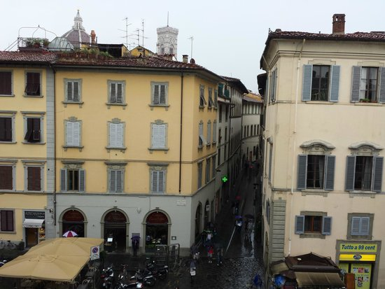 HOTEL LORENA : The Duomo and Bell tower from our room