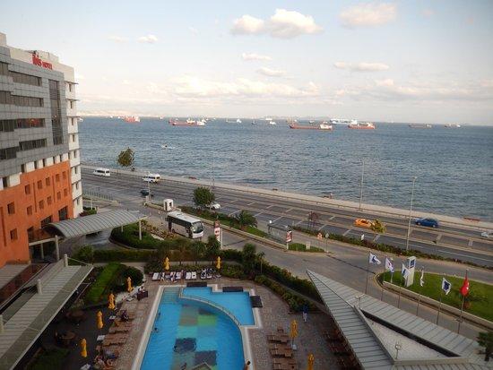 Novotel Istanbul City West Hotel : Vue de notre chambre