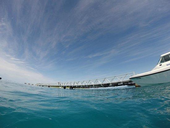 View out to sea picture of conrad maldives rangali for Conrad maldives rangali