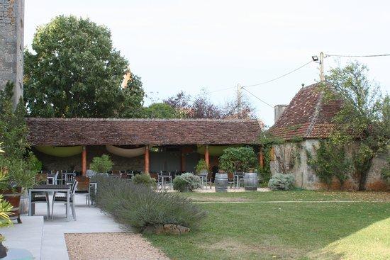 Hotel le Grezalide: terrasse