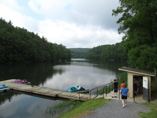 Pipestem Resort State Park: Activities Include Boat Rentals   Canoes And  Paddleboats