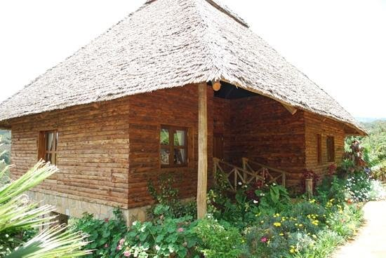 Neptune Ngorongoro Luxury Lodge : Great bungalow, spacious and nice view
