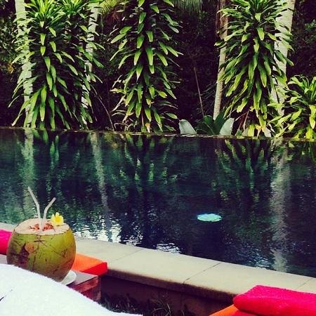 Suara Air Luxury Villa Ubud: suara air pool