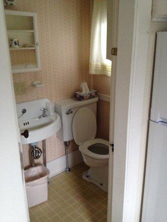 Hearthside Village Cottage Motel : Bathroom