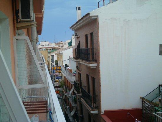 Hotel Mayna: view from balcony
