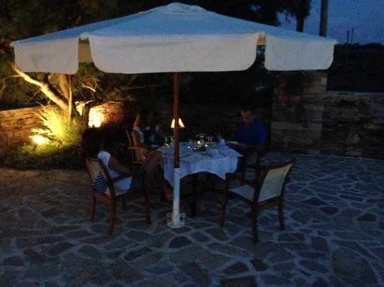 Villa Marandi Luxury Suites: Ristorante