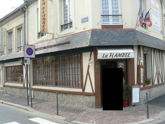 La Flambee: devanture