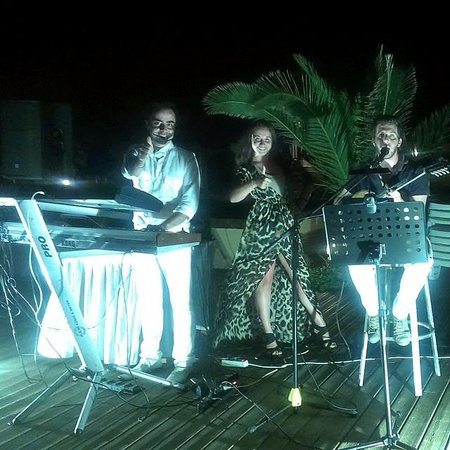 Dessole Blue Star Resort : музыканты