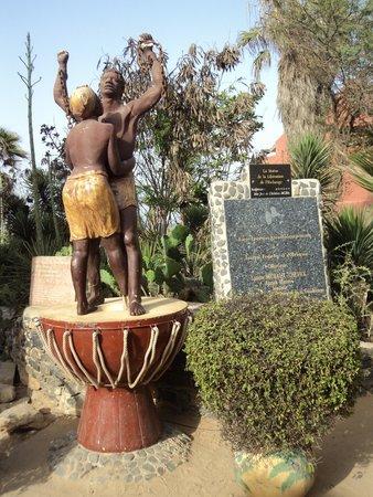 La Maison des Esclaves : Statue de la Liberté
