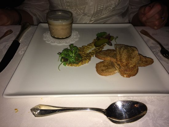 The Manor on Golden Pond: Pressed pork with mustard