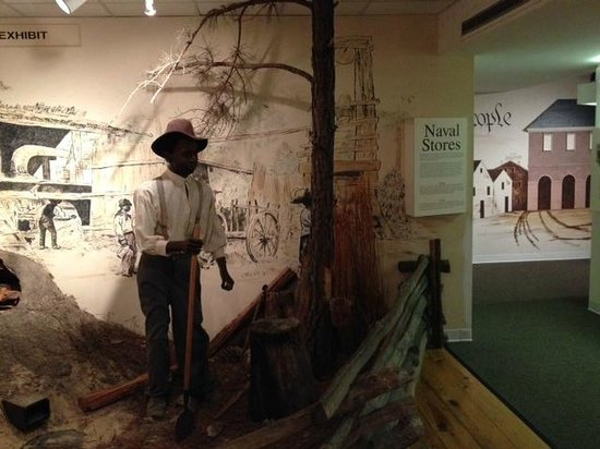 Museum of Cape Fear: Part of Slave Display
