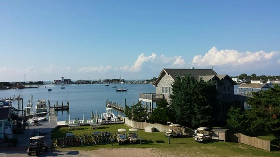 Ocracoke Harbor Inn : Harbor View from room