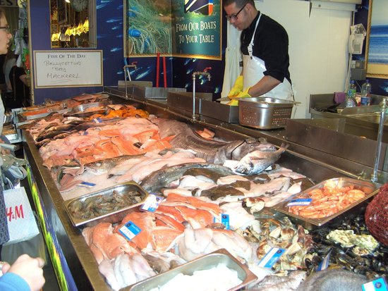 Fish market stall picture of the english market cork for City fish market