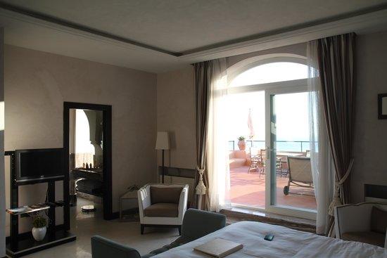 Punta Tragara: Chambre, Salle de bains, Terrasse : just perfect !!!