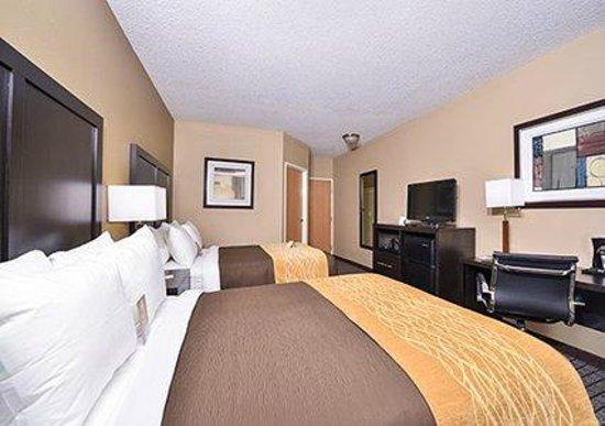 Comfort Inn Lebanon Valley/Ft. Indiantown Gap: 2 Double Beds
