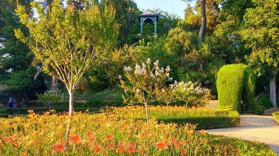 Jardines del principe la monta a rusa fotograf a de for Restaurante jardin del principe en aranjuez