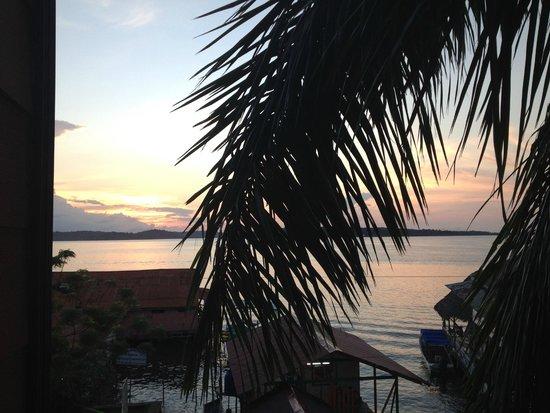 Hotel Palma Royale: amanecer desde la habitación