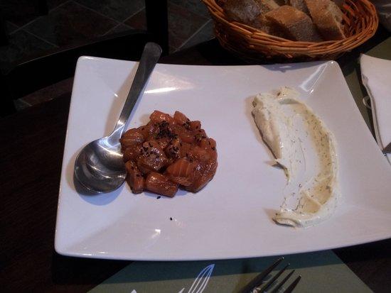 Recorcho Gastrobar : Tacos de salmón